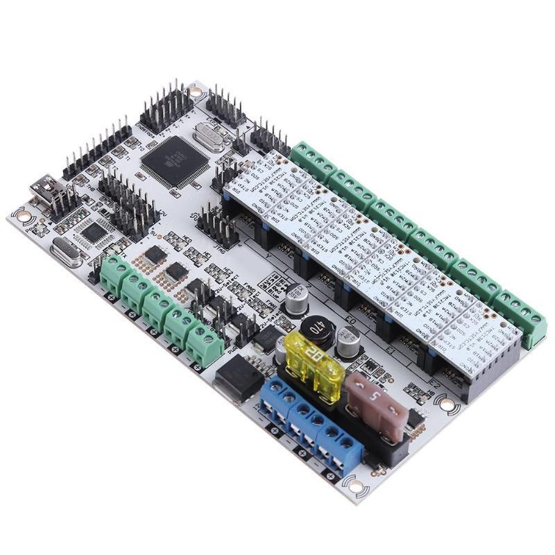 Rumba Plus La Carte Mère avec 6 pcs TMC2130 V1.0 Lecteur Pas À Pas pour Imprimante 3D