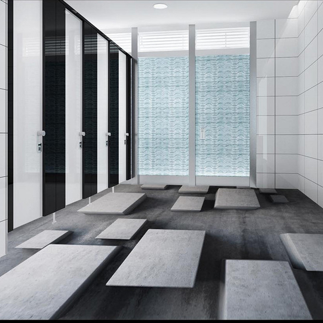 Custom Floor Tiles Wall Papers Stone Grid Photo Wallpaper Modern 3d