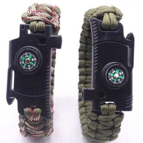 Купить плетеный браслет мужской женский уличный паракорд для выживания