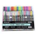 ZUIXUAN 48 гелевых ручек  Набор цветных гелевых ручек  блестящие металлические ручки  хороший подарок для рисования цветными рисунками для дете...