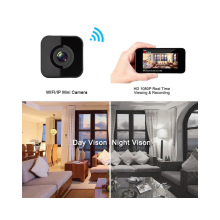 Mini Camera HD 1080P Wireless IP wifi Camera DV DVR Camcorder Sport DV Video Recorder infrared Night Vision Motion Detection Cam купить недорого в Москве