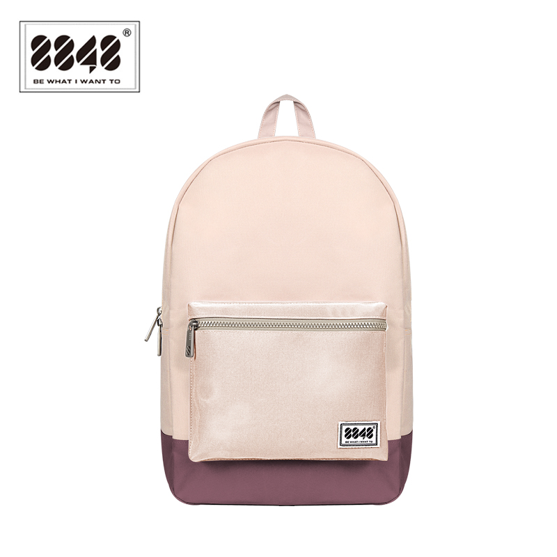 8848 Backpack Team Autumn Travel School Preppy Style Waterproof Resistant Oxford 16 7L Capacity 100 Polyester