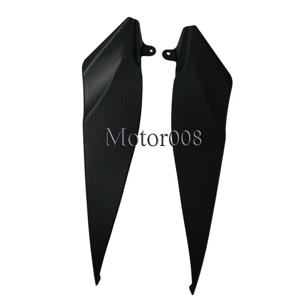 1Pair Black Tank Side Panel <font><b>Fairing</b></font> Panel Gas Tank Cover for Motorcycle <font><b>Yamaha</b></font> <font><b>2007</b></font> 2008 YZF <font><b>R1</b></font> YZFR1 07-08 image