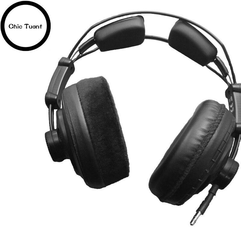 Remplacement Oreille Pad Oreillettes Oreillettes Couverture D'oreille Coussinets pour SUPERLUX HD668B HD669 HD 668B 669 hd668 Pro Studio casque