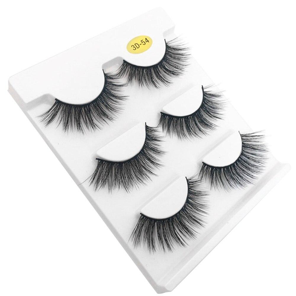 Beauty & Health False Eyelashes Crown Lashes 6d Mink Eyelashes Wispy Cross Eye Lashes Fluffy Handmade Mink Eyelashes Vendors
