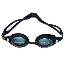 Myopia Swimming Goggles Anti-fog UV Prescription Optical Silicone Swimming Goggles Glass