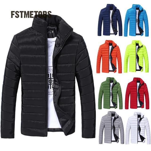 2018 men jacket, autumn fashion long-sleeved mountaineering outdoor leisure light thin cotton-padded clothes