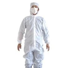 Yuntab 10pcs / lots New arrivals Men's clothing Protective clothing Anti-static protective clothing Sterile dust suit