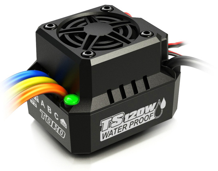 New Arrival Spare Part SKYRC TS120W 120A IP67 Waterproof Brushless motor Anti-Water ESC for HSP 1/10 1/12 RC Car Sensorless racerstar 120a esc brushless waterproof sensorless 1 8 rc remote radio car parts