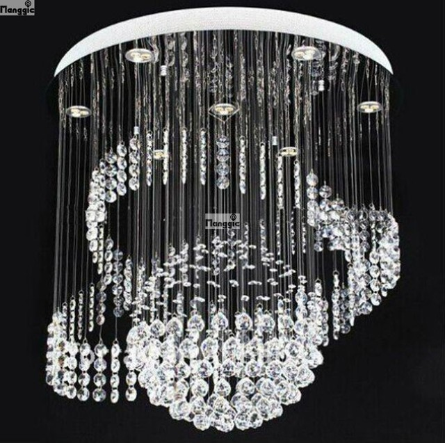 Holiday S Special Price Luxury Led Crystal Chandelier Light Fixtures Living Room Dia600 H800mm