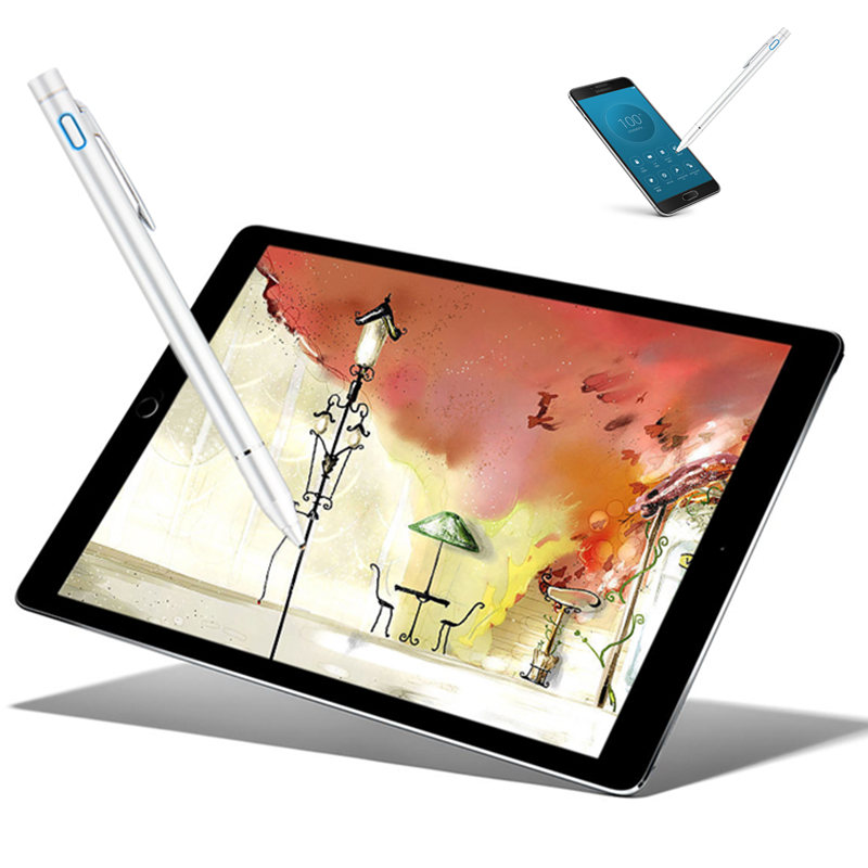 Active Pen Stylus For <font><b>Teclast</b></font> <font><b>A10H</b></font> Quad Core Android M89 98 Octa Core T8 X6 PRO X3 Plus Tablet Stylus Capacitive Screen Pencil image