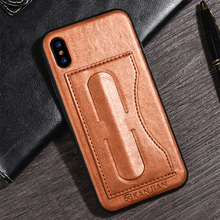 Vintage Leather Case Shockproof Cover For iPhone X 8 7 6 6S Case Car magnetic Stand Holder Cover For iPhone 8 7 6 6S Plus Case oil wax crazy horse leather magnetic cover w stand for iphone 6s 6 4 7 inch rose