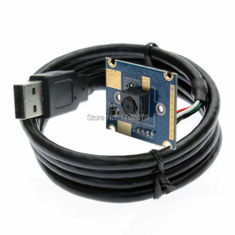 30X25mm 5.0 mégapixels Max. Résolution 2592x1944 MJPEG YUY2 autofocus usb micro caméra module avec 60 degrés Autofocus HD Lentille