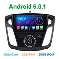8 Окта основные Android 6.0.1 Dvd-плеер Автомобиля для Ford Focus 3 2011-2017 с Bluetooth GPS Wi-Fi Радио