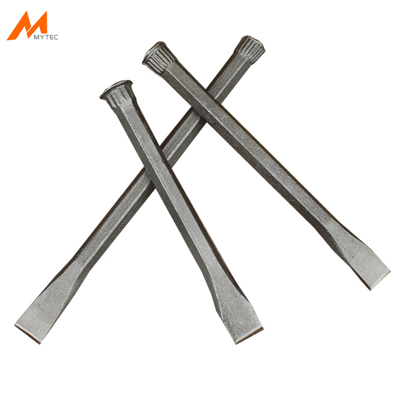 Metal Cold Chisel Stone Cement Concrete Chisel Tool, Flat