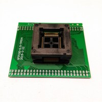 Trasporto TQFP100 FQFP100 QFP100 per DIP100 Presa di Programmazione OTQ-100-0.5-09 Passo 0.5mm IC Dimensioni Del Corpo 14x14mm di Prova adattatore
