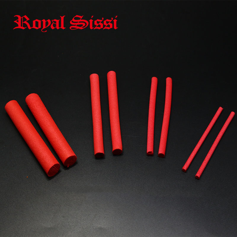 4 sizes red fly tying foam cylinder 3mm5mm8mm12mm parachute floating hopper &wiggle floatant fly tying material body extended fly ff248 red
