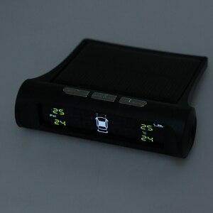 Image 3 - 1 セットスマート車 TPMS タイヤ空気圧監視システムデジタル液晶ディスプレイの警報システムタイヤ空気圧監視システム