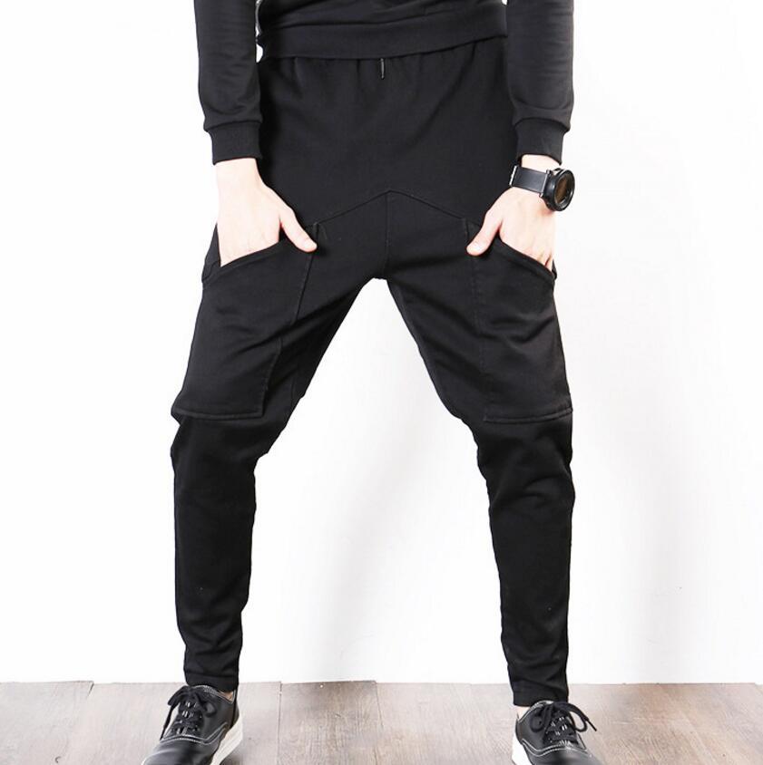 De Pies Cintura Pequeño Coreana La Envío Haren m 3xl fósforo Hombres Negro Elástico Tamaño Grande Pantalones Personalidad Gratis Todo Los Versión xUpxYBaq