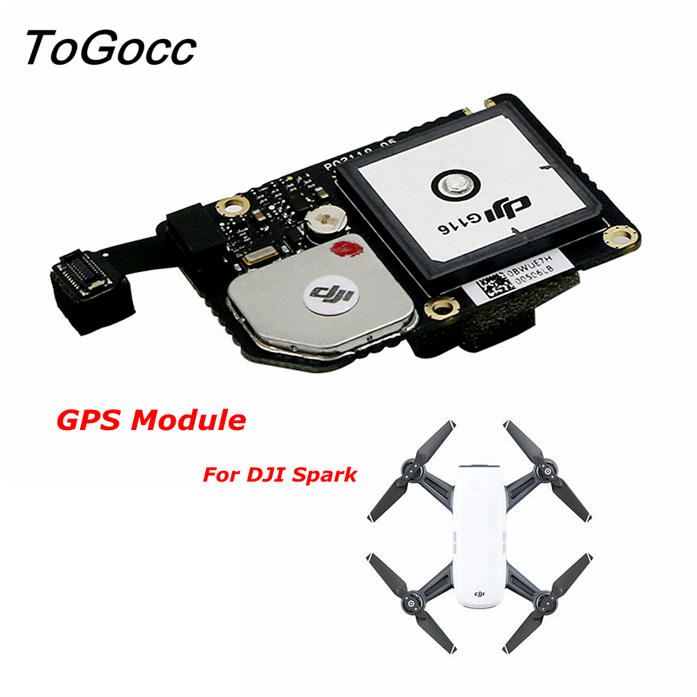 DJI Spark Drone GPS Module GLONASS Board Flight Controller Accessories Repair Parts Component Original hobbylord part st 550c 001 flight controller with gps wholeale price rc drone aircraft accessories free shipping