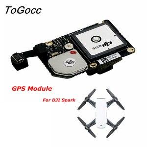 Image 1 - DJI Spark Drone GPS Module Repair Parts Original GLONASS Board Flight Controller Accessories Component