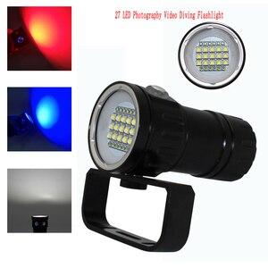 Image 5 - Светодиодный фонарик для дайвинга светильник HP70/90, светильник рь для фотосъемки и видеосъемки 100 лм, подводный водонепроницаемый тактический фонарь м