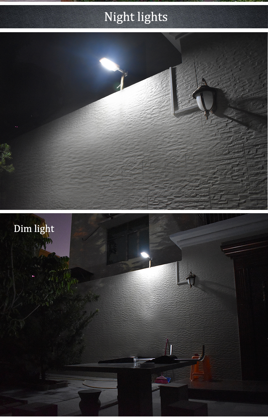 Waterproof and Motion Sensor Outdoor Solar Light with 48 LED and Rotatable Pole for Stairs and Yard 15