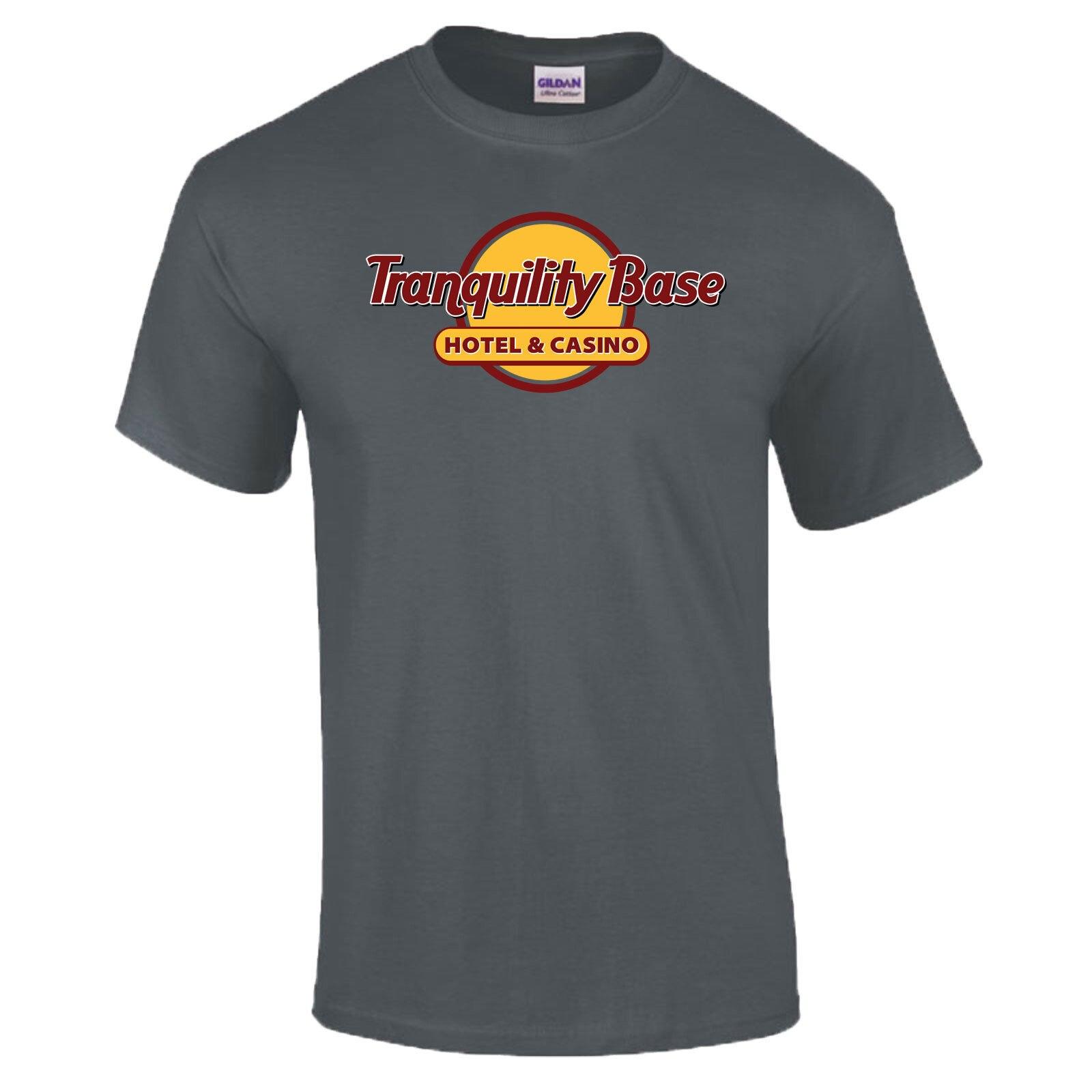 39b60fb49 Tranquility Base Hotel & Casino Spoof PREMIUM T-Shirt S - 5XL New T Shirts