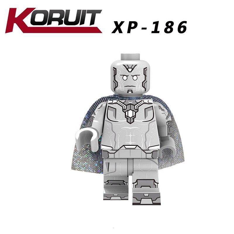Single Sale LegoINGlys Super Heroes Avengers Endgame Figure Thor ROCKET RACCOON VISION Ronin Bricks Building Blocks Children Toy