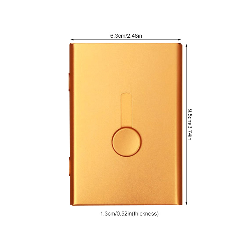 Hand Push Card Case