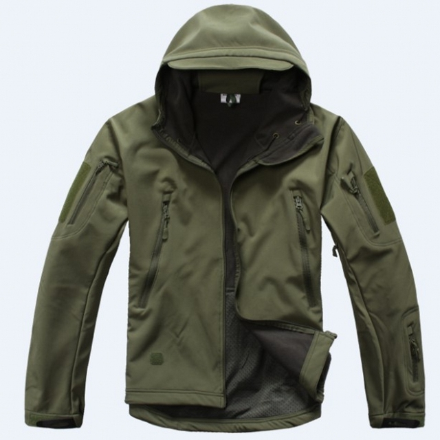 Windproof Waterproof Army Clothing Gear Lurker Shark skin Soft Shell V 4.0 Military Tactical Jacket
