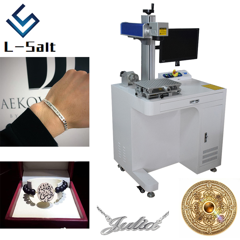 Laser Printer For Metal Plastic Stainless Steel Jewelry Engraver Machine
