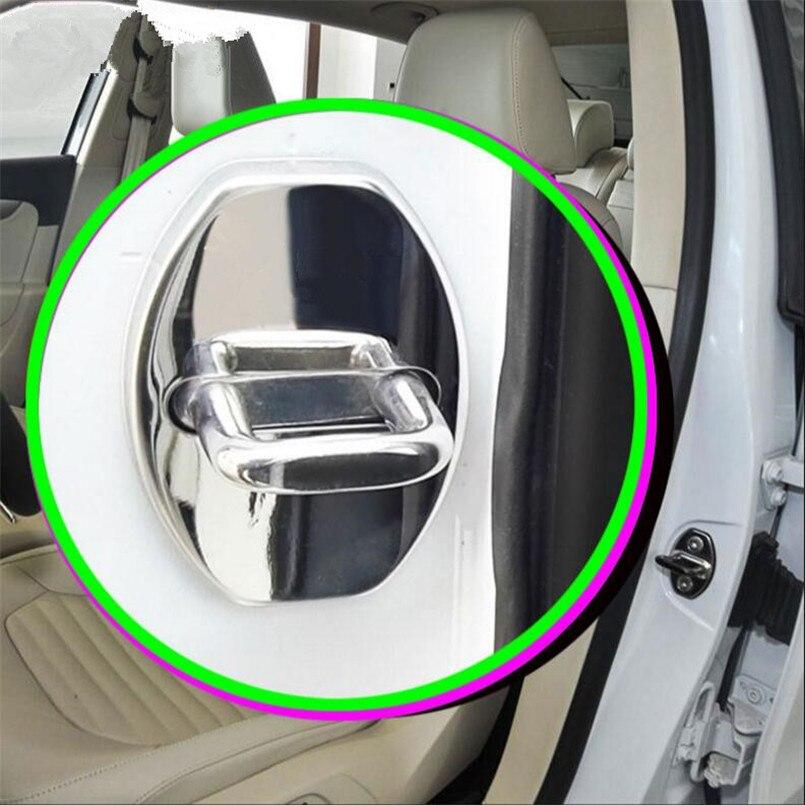 4pcs/Set Car Styling Door Lock Waterproof Rust Protector