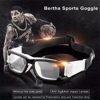 Bertha Im Freien Sicherheit Sportbrillen Prescription RX Schutzbrille Für Basketball Fußball Volleyball Baseball ect 1006