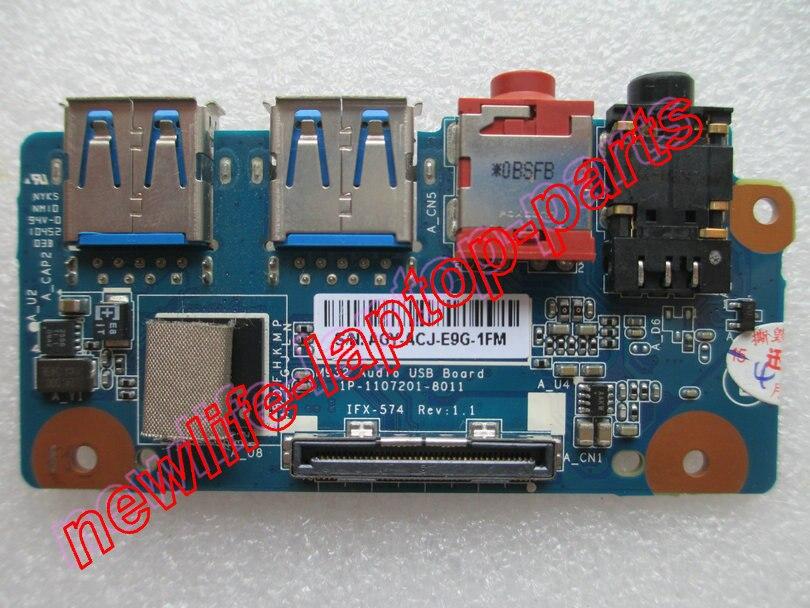 Оригинальный vpcf1 серии USB 3.0 звуковой платы ifx-574 M932 аудио USB доска Тесты хорошее Бесплатная доставка