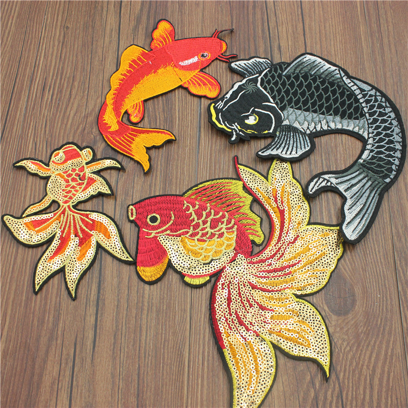 Feather applique embroidery Applique Patch Iron on Sew Clothes Decor  JH