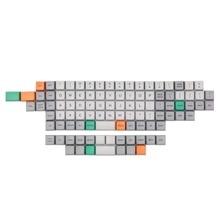 [En stock] Ortholinear Big Bang MDA perfil keycap tinte subbed teclas para teclado mecánico