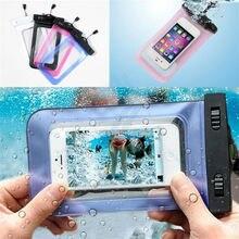 Универсальная водонепроницаемая сумка для телефона Carcasas Coque Capa De Capinhas A Prova Dagua Para Celular для Iphone Meizu для samsung для LG