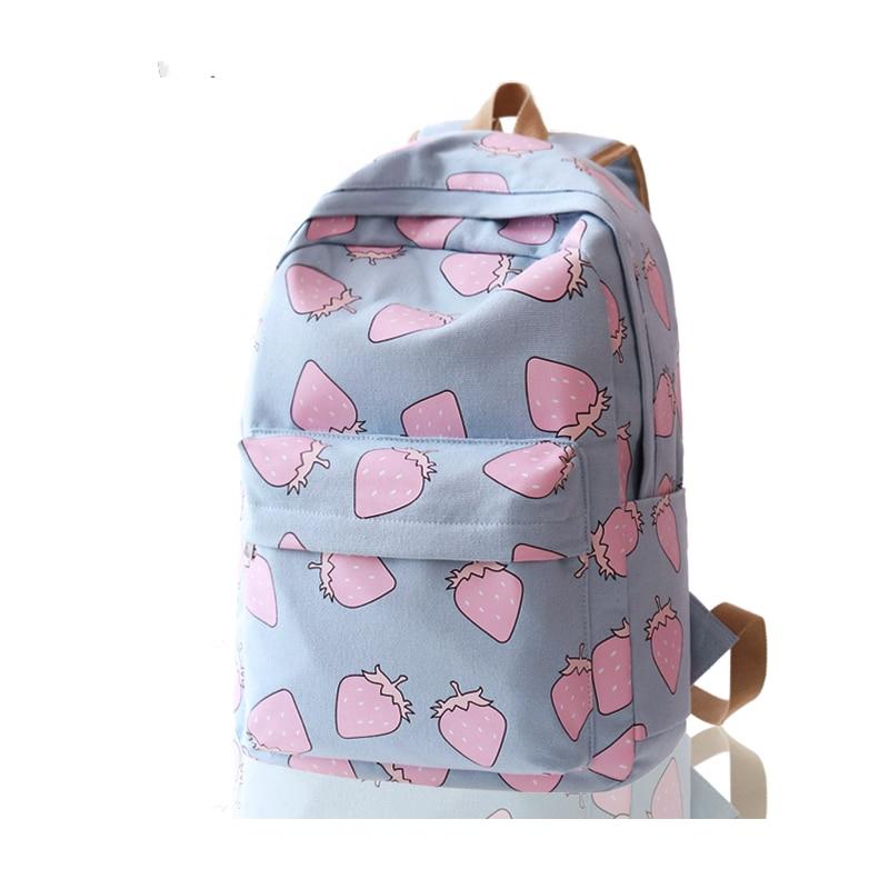 Canvas Backpack Bag, wind tide South Korea version of high school students of junior middle school students travel backpack bags смеситель для ванной triton 16304 z purple