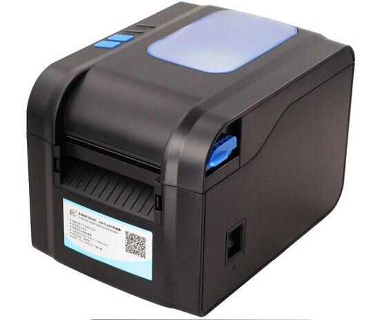 XP-370B этикетки штрих-код принтер термальный чековый или принтер этикеток 20 мм до 80 мм термальный принтер штрих-кода автоматическая зачистки