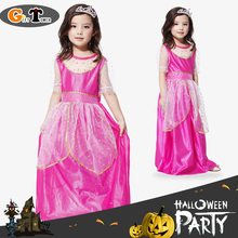 M~XL New 2016 Dorothy Dream Princess Cosplay Halloween Children Dress Up Party Costumes for Kids Girl Stage Performance Dresses