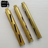Diamond Core Bit With Dry. Diameter 32mm, 40mm, 51mm, 56mm, 63mm x 450mm Dry Diamond Core Drill Bit For Brick Wall. Length 450mm