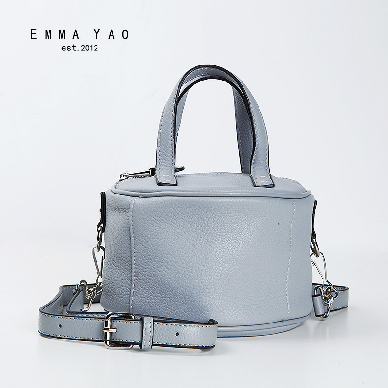 EMMA YAO women crossbody bag designer genuine leatherwomen bag brand shoulder bags цена 2017
