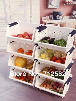 Kitchen Vegetable Storage Racks Clothing Boxes Kitchen Organizer And  Storage 1piece Free Shipping