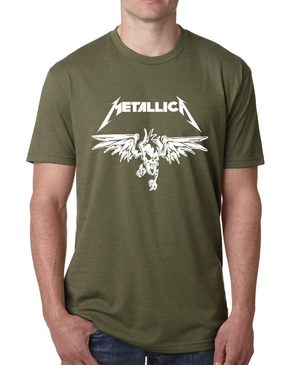 Compra camisetas de heavy metal online al por mayor de