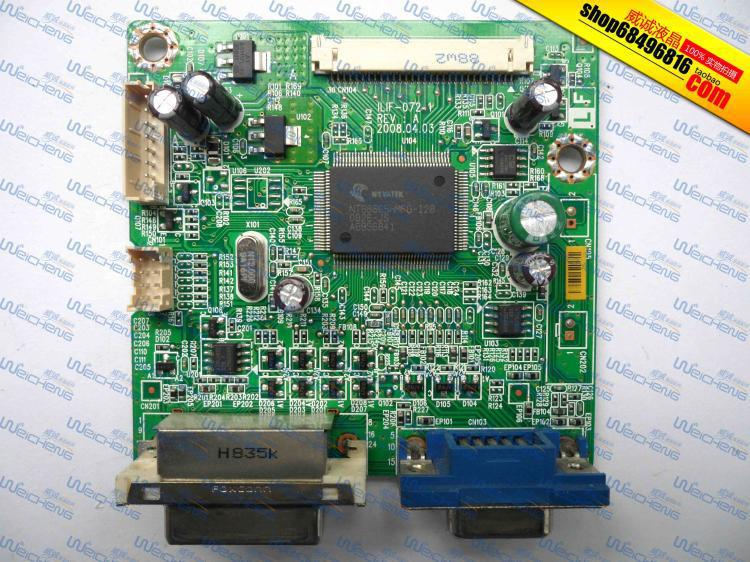 Free Shipping>ImageQuest HDIT22W logic board ILIF-072 491541300100R driver board-Original 100% Tested Working free shipping ptfbhf 19rw logic board ilif 020 490741300100r driver board motherboard original 100% tested working