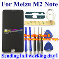 High Quality For Meizu M2 Note Touch Screen Digitizer+LCD Display For Meizu M2 Note Cellphone 1920*1080 FHD 5.5 inch Black Color