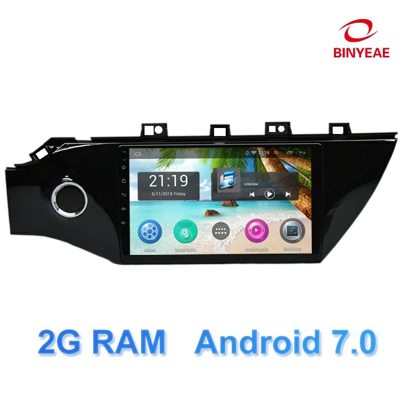 9 дюймов Android 7,0 dvd-плеер автомобиля gps для Kia Rio K2 2017 2018 Аудио автомобилей Радио Стерео навигатор с <font><b>bluetooth</b></font>, Wi-Fi собран в