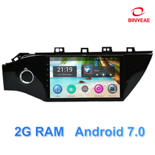 9 inch Android 7.0 Car DVD Player GPS for Kia Rio K2 2017 2018 audio car radio stereo navigator with bluetooth wifi built in