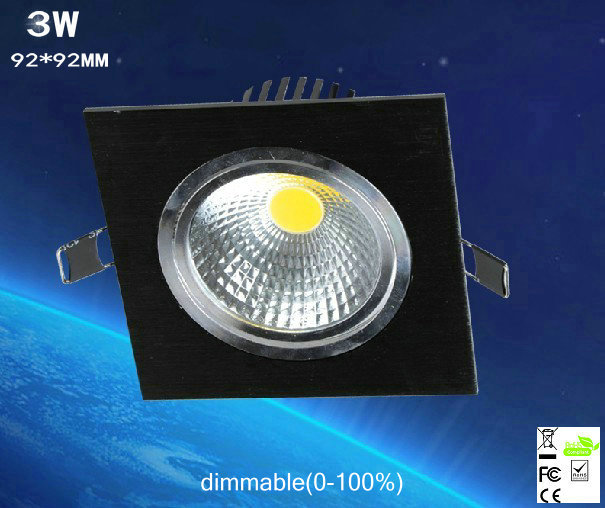 10pcs/lot 3w dimmable Limited Square Bright Recessed Led Dimmable Downlight Cob Spot Light Decoration Ceiling Lamp Ac 110v 220v 10pcs/lot 3w dimmable Limited Square Bright Recessed Led Dimmable Downlight Cob Spot Light Decoration Ceiling Lamp Ac 110v 220v